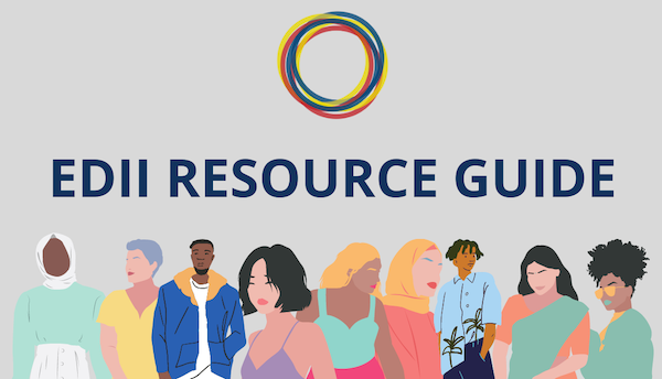 Graphic for the Equity, Diversity, Inclusive and Indigeneity Resource Guide